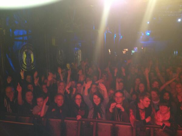 Just came off stage In Brighton, was such a good show! Apart from the part when the girl passed out #bassismental http://t.co/sBBBTR6p2a