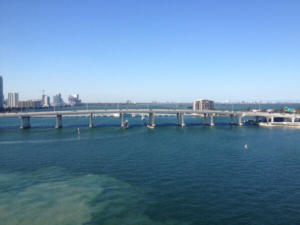 Miami, you're looking beautiful  ❤ http://t.co/I7fJD8J9RF