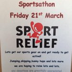 RT @Chunky_Monkeys_: Sport relief at chunky monkeys next Friday!