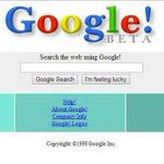 16 years of Google homepages http://t.co/33IBkl1XH5