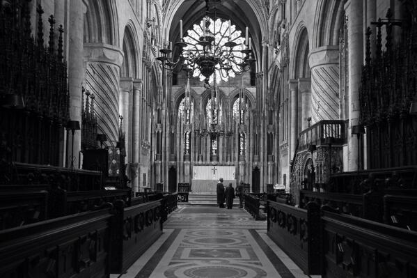 Some Lenten images of @Durhamcathedral 1. The quire & high altar. http://t.co/qOfDFp8Vjh