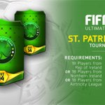 Start your St. Paddy's Day early. The St. Patrick's Day tournament starts Friday. #FUT