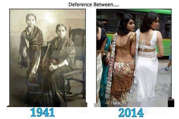 1941  இல்  கண்ணியம்  2014 இல் பெண்ணியம் தட்ஸ் ஆல் http://t.co/egkAJbgaGA