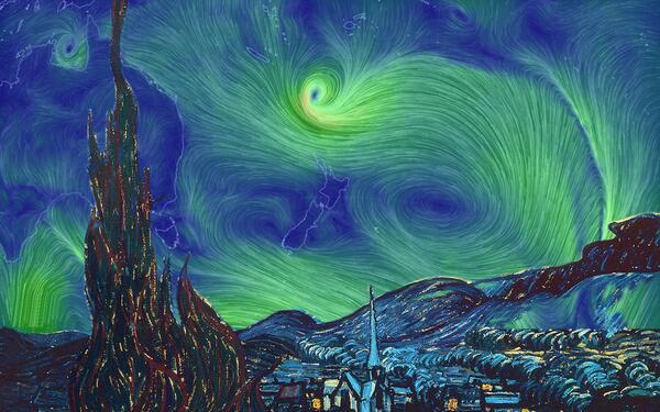 "#CycloneLusi +  http://t.co/MXypfpuau9 + Van Gogh = ""Lusi Night"" http://t.co/k5x9UajjnQ"