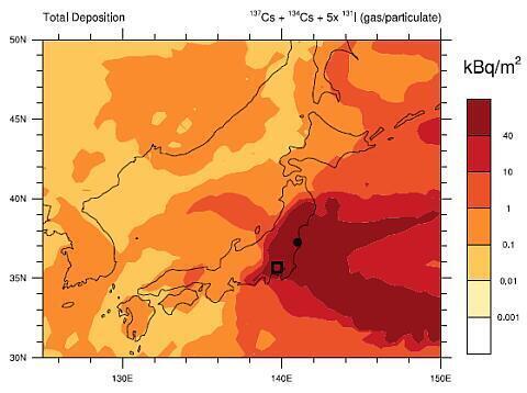 【拡散】昨日のヘレン・カルディコット博士の講演で使用された資料。 EUが公開した報告書によれば福島も東京も人が住んではいけないレベル。 それでもまだ偏西風により八割は太平洋に流れた。 西で事故が起きたら日本に住む場所がなくなる。 http://t.co/DxPSzhaQCw