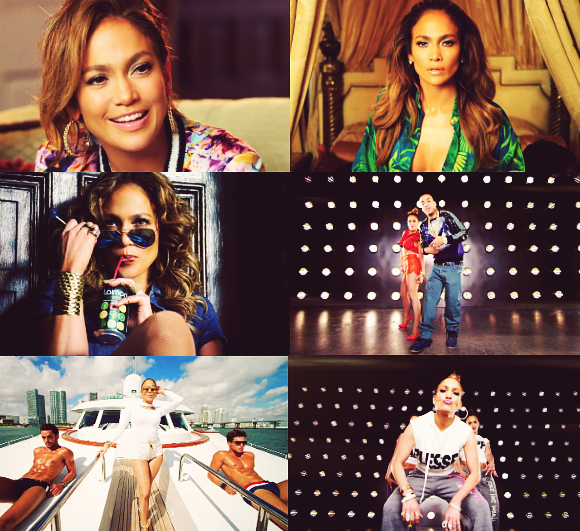 @JLo #ILuhYaPapi video looks P E R F E C T! You look stunning in every 6 outfits! #SameGirl #Album10 http://t.co/6kttH7LUnZ