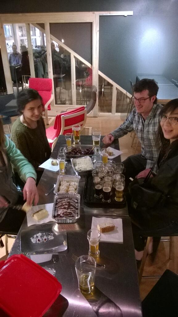LOVE hanging out with cool peeps from @upslope & @SpruceConfctns! #DessertPairing #Boulder @BrewBeers http://t.co/aBW11DYzDK