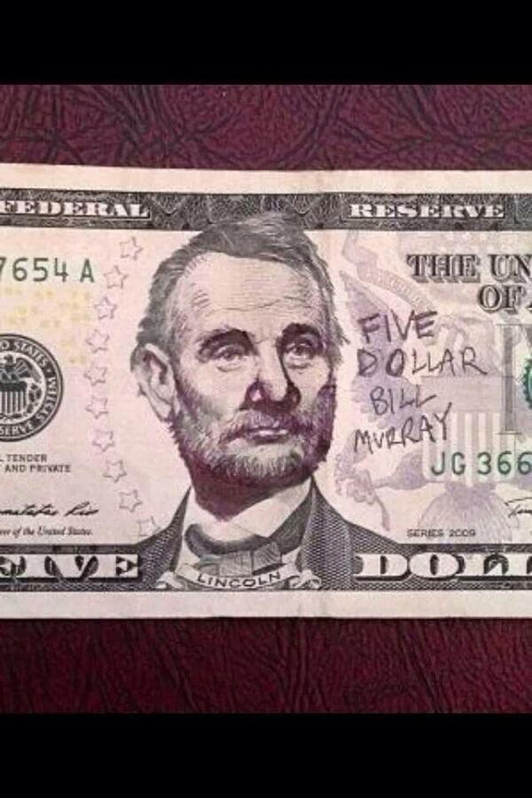 This is so cool. #billmurray  #billeffingmurray http://t.co/nAxYZiPCXy
