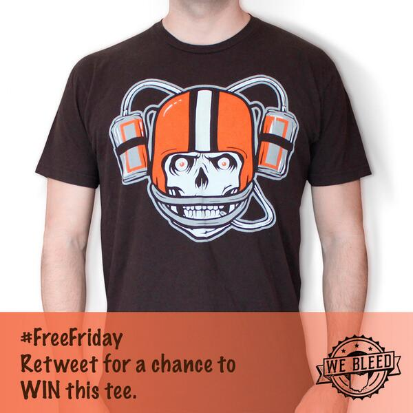 #FreeFriday for diehard Cleveland fans that can't wait to start tailgating come Draft day. RT for chance to win. http://t.co/6FRbhFmh77