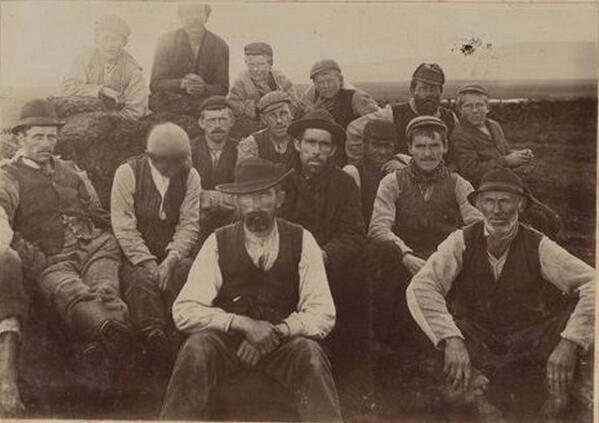 Men of Ballycroy, Co. Mayo, 1895 (DRIS) http://t.co/GVi9wm91qr