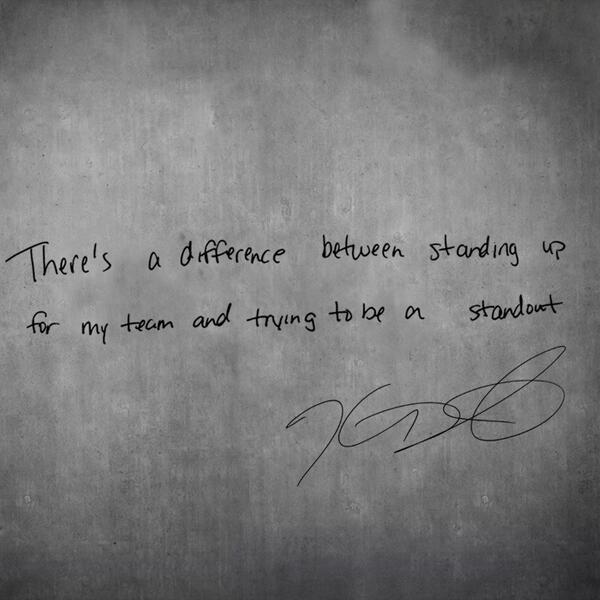 #strongandkind thoughts from @KDTrey5 Stand up and take the pledge http://t.co/qDYC8AmdWv http://t.co/468wQ2vxfe