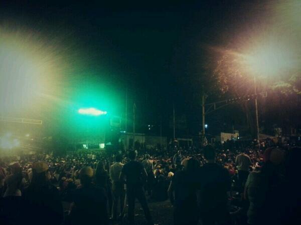 Esperando al berraco @fdelrinconcnn en la Av Carabobo #ConcluTachira #14M #SOSVzla http://t.co/CPmjMzaqDp