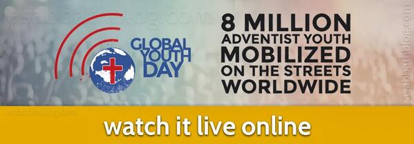 #GlobalYouthDay is happening! For the next 24 hours, there'll be live video: http://t.co/mwOyS6Taf8 http://t.co/qikl0b9l97