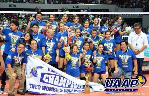 Ateneo De Manila University Lady Eagles. #H1STORY (c) @richardesguerra