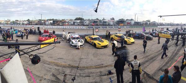 The #GTLM grid. All amazing cars. #Sebring12 http://t.co/KTWBTqIneC
