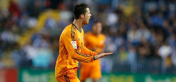 RT @realmadriden: FT: Málaga 0-1 Real Madrid (23' @Cristiano Ronaldo). #MalagaRealMadrid #RMLive http://t.co/9serwXxOLo