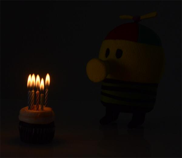 Happy 5th birthday Doodle Jump! http://t.co/zWmofenvU8