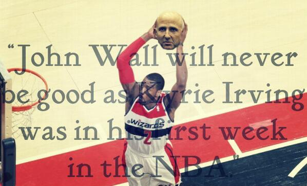 Don't look now, David Falk. John Wall currently leads the NBA in total assists (570). http://t.co/OPoVOnnWan