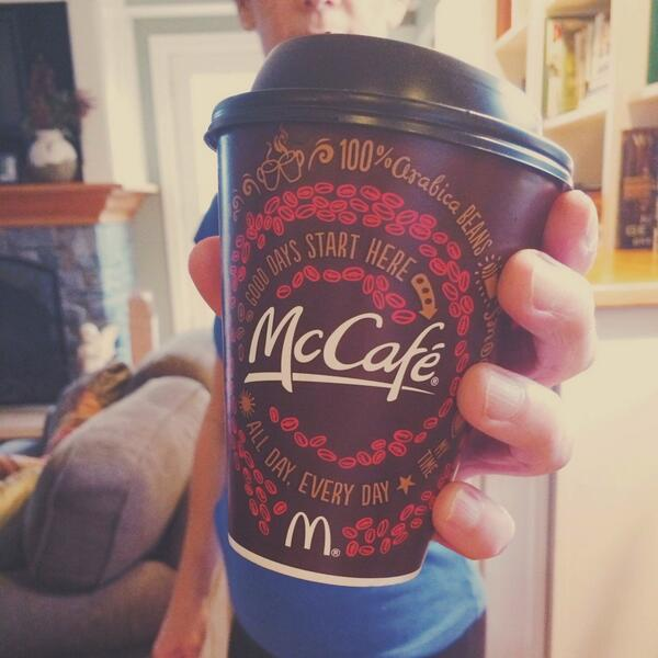 Own Monday. #FreeCoffee from #McCafe at breakfast 3/31- 4/13. http://t.co/rq7HJyRcuN