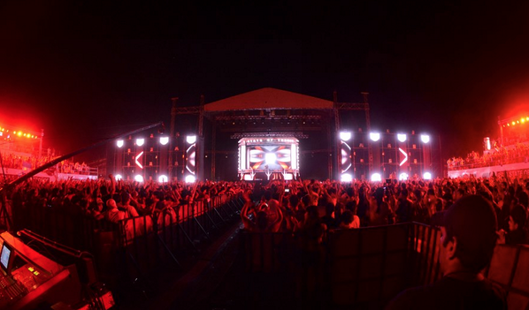 1 year ago today, @ASOT 600 in Guatemala, one of my favourite gigs of 2013! #TranceFamily http://t.co/bhau3eygdW