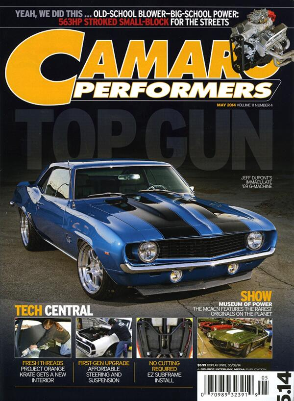 Get it while its Hot! The May 2014 issue of Camaro Performers is on sale at your favorite newsstand now... http://t.co/uXS6XbOqnY