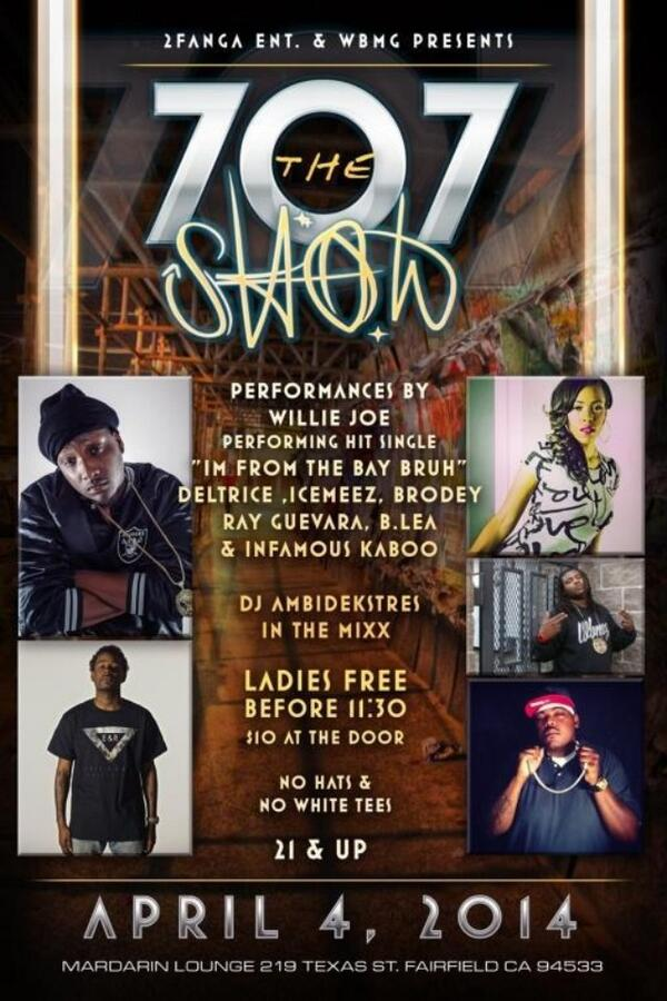 April 4th I'm back in the 707. Come out & hear me sing Live in Fairfield at The MARDARIN LOUNGE. 21+ http://t.co/jHDnlVbCOX