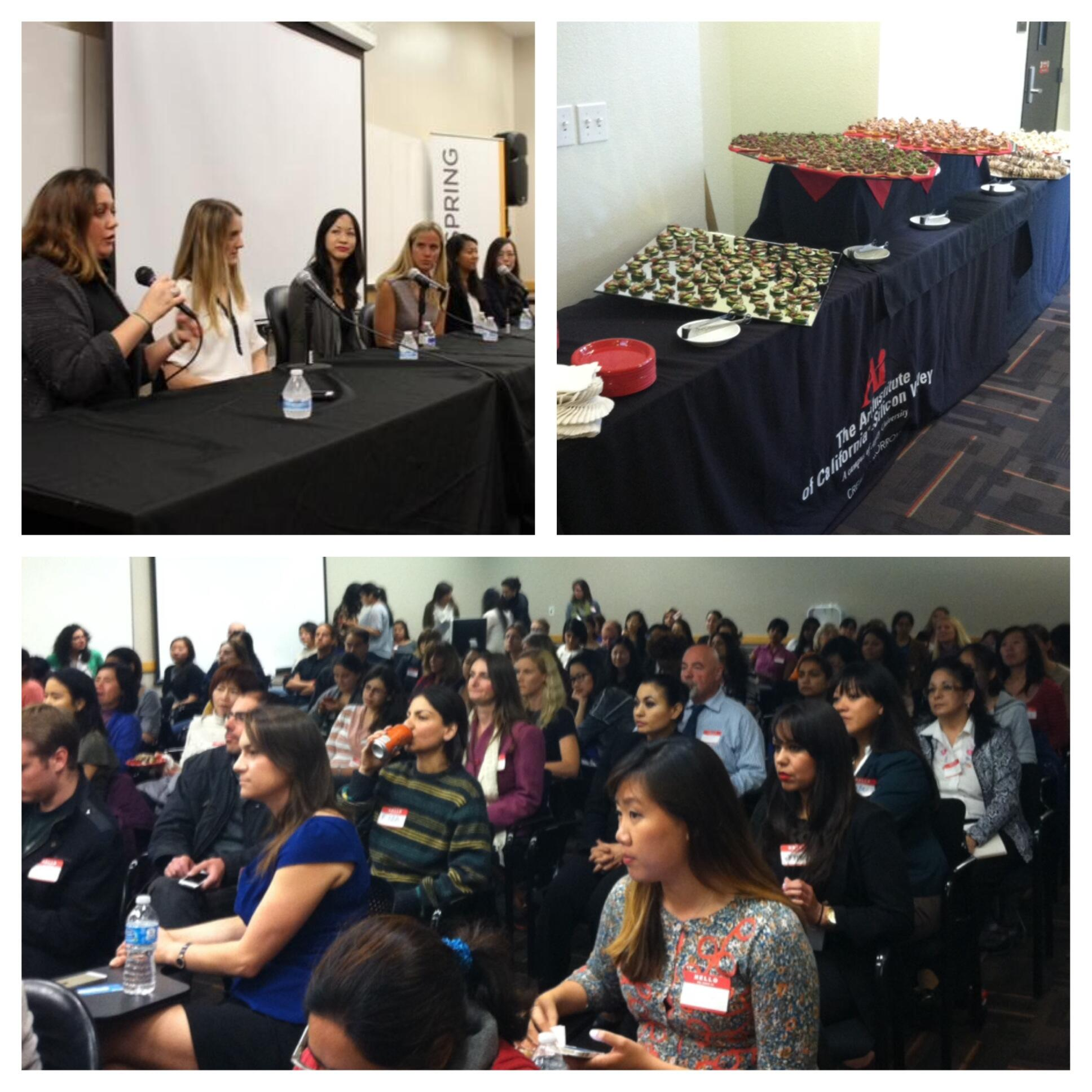 #WomenInTech had an amazing turnout in #SiliconValley with over 200 attendees! Here are more pics from the night! http://t.co/iCBSYno1lm