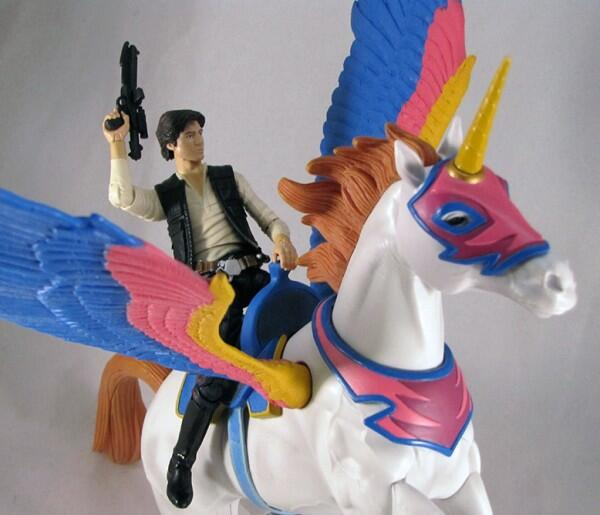 YES!!!!! RT @johnmknight: Here's Han Solo riding a Pegasus/Unicorn. http://t.co/hHuWDDACdA