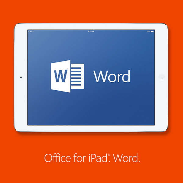 Get excited, wordsmiths! Word is available with #OfficeforiPad. Write on. http://t.co/DfC0fbr8jd http://t.co/932jLNLORV