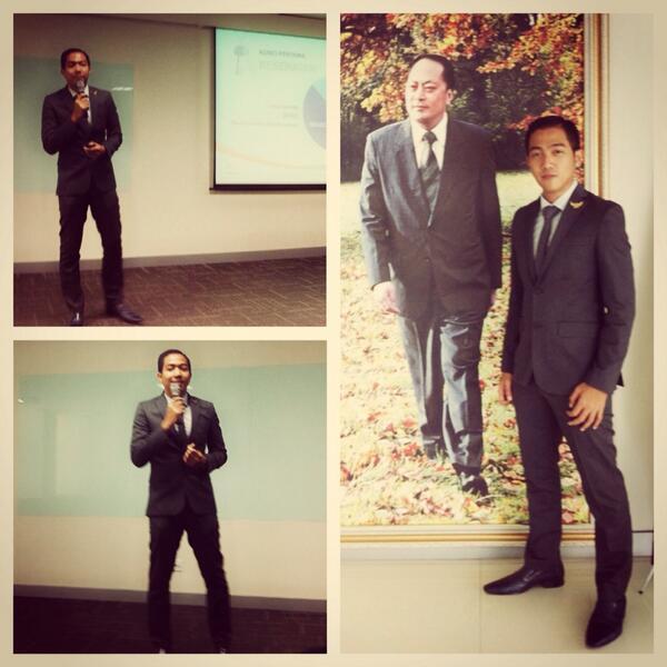Ngisi seminar kesehatan :D yuk jgn sembarangan konsul, cari yg berpengalaman minimal 10thn diKesehatan http://t.co/WhUmS7A261