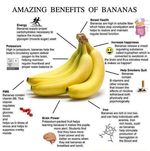 RT @CyclingSurgeon: Amazing benefits of bananas, especially for cyclists! http://t.co/Z6cY0VXTgw