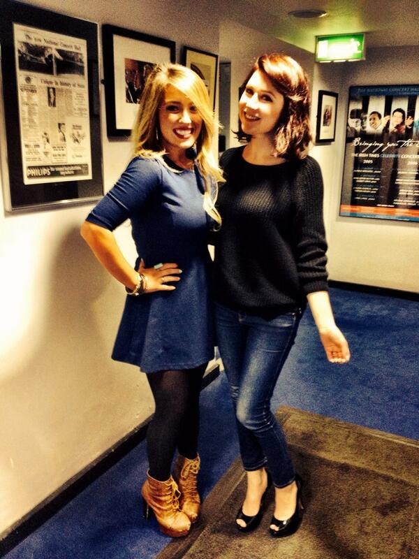 Reunited with my beautiful pal @HayleyWestenra tonight before her wonderful show in the @NCH_Music !!!! #happyladies http://t.co/YIKF8WdZBG