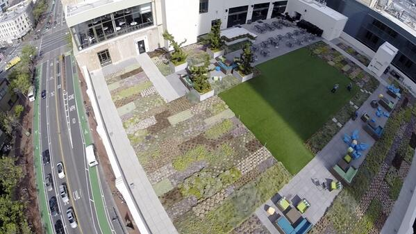 The @twitter office from above. http://t.co/IRz5SZThYa
