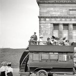 Fare Ten Cents - Double Decker Bus, New York City, 1911 | #NYC #NY http://t.co/ML4h9RD9JP