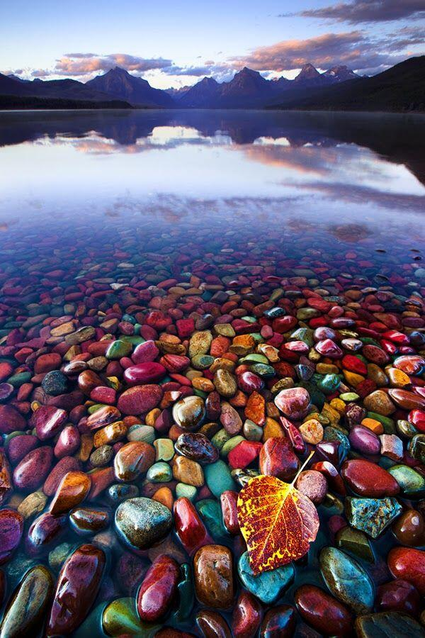 Pebble Shore Lake (Lake McDonald), Glacier National Park Montana, #UnitedStates http://t.co/gI0w00mchA RT @inspirepicapp @CordeiroRick