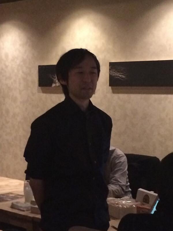 挨拶をするアニメーター界最強のたつき兵長(ぬこP) #tesabu