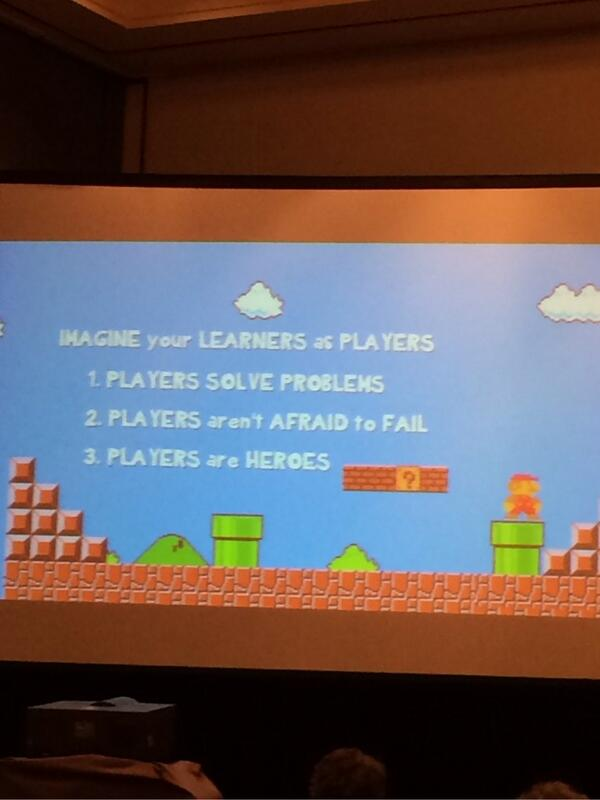 Learners as players, problem solvers. #TESOL2014 http://t.co/npVaATKGeC