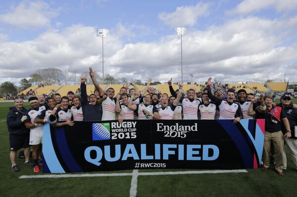 ENGLAND BOUND! The Eagles have qualified for the IRB @rugbyworldcup 2015! http://t.co/3xIp4VUW0U