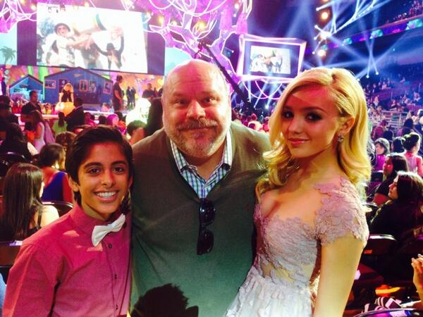 @TheKaranBrar @PeytonList and I at the #KCA2014 awards http://t.co/aKsVtVESHK