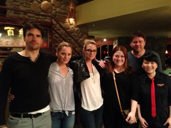 """@lexmedlin: Cast dinner! We had a ball! So did the waitress... http://t.co/EJTafFzu9e""Lexi bday!"
