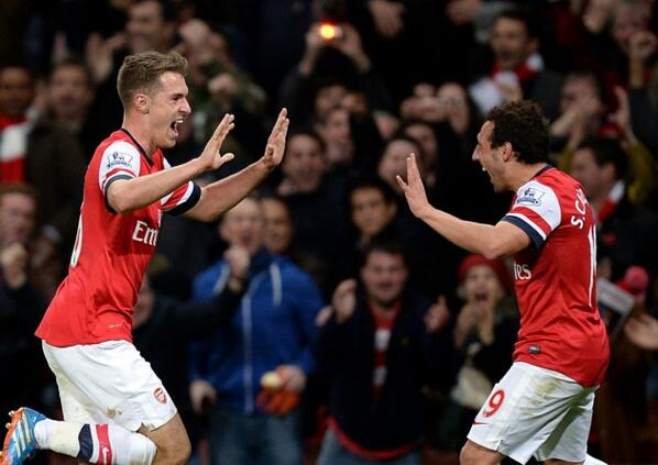 BjBYhzACAAAjaX  Santi Cazorla, Aaron Ramsey & Gedion Zelalem sign new Arsenal contracts