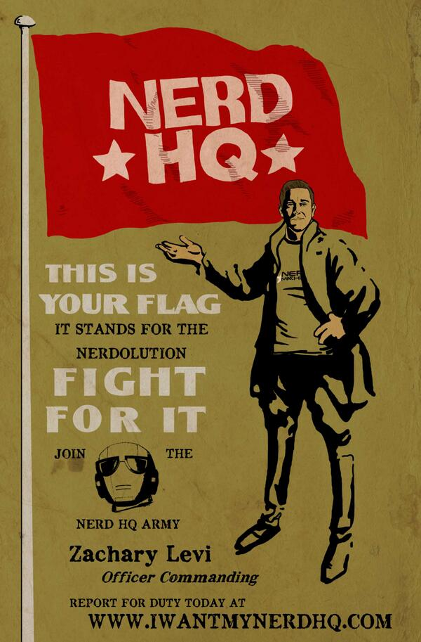Support @thenerdmachine with #IWantMyNerdHQ http://t.co/cY9Q0EYweS http://t.co/CIohAeJ4ra