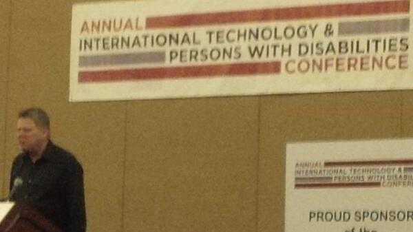 Love this photo from CSUN International Technology & Persons with Disabilities Conference ##csun14 @CSUNCOD [pic] --