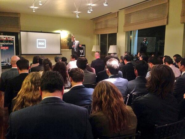 Full house at Investors Night. Good luck everyone! http://t.co/66W473pxzN