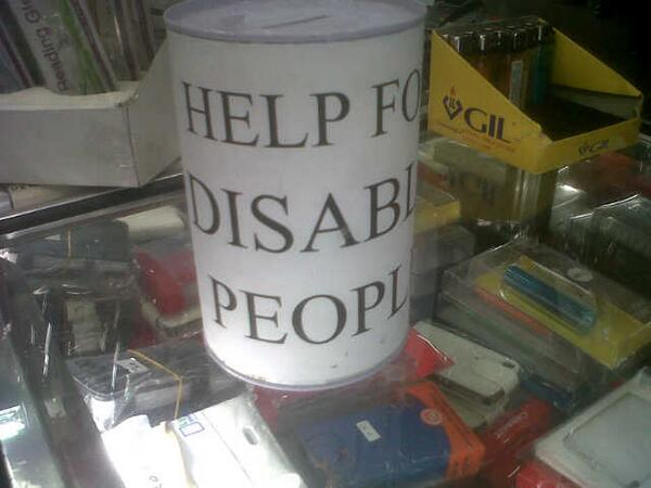 #supportcharitynotcrime a member of the @LPN has just identified this... http://t.co/05RXVma8Xg