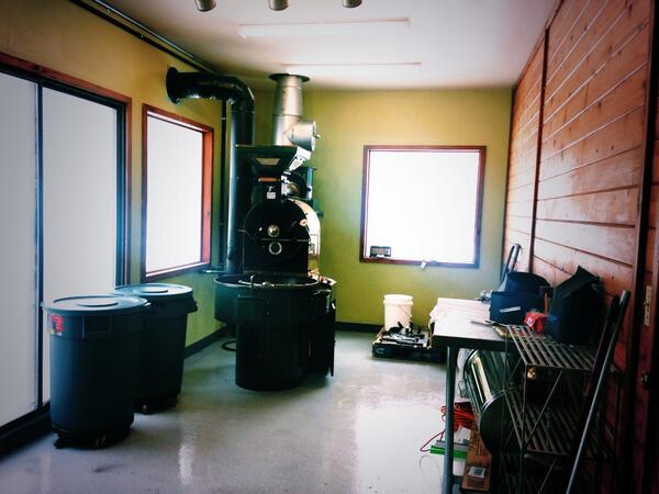 Roasting space is starting to shape up! http://t.co/e26re166pq