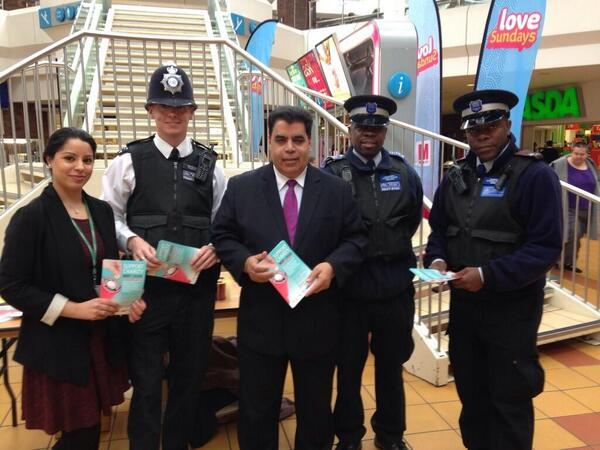 #WalthamForest have pulled out all the stops for the #SupportCharityNotCrime Campaign. Well done! http://t.co/sJRsXf2qyj