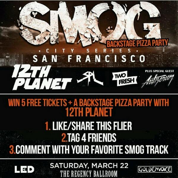 Oh fuck & in #SanFrancisco this #Saturday!!! #BitchesSayYay ;-{D