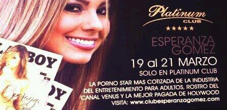 Esta noche los espero a todos para que me acompañen y me apoyen en Platinum Club-Santiago de Chile http://t