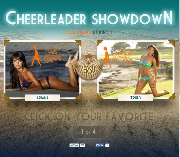 4th Annual Miami Dolphins Cheerleader Showdown is here! VOTE for me!!!! http://t.co/KaqnrvqG1U http://t.co/II9nX3M7co